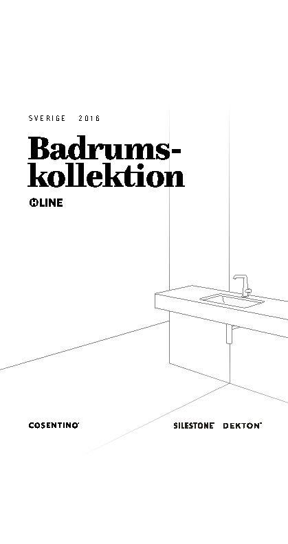 H Line Bathroom Catalog