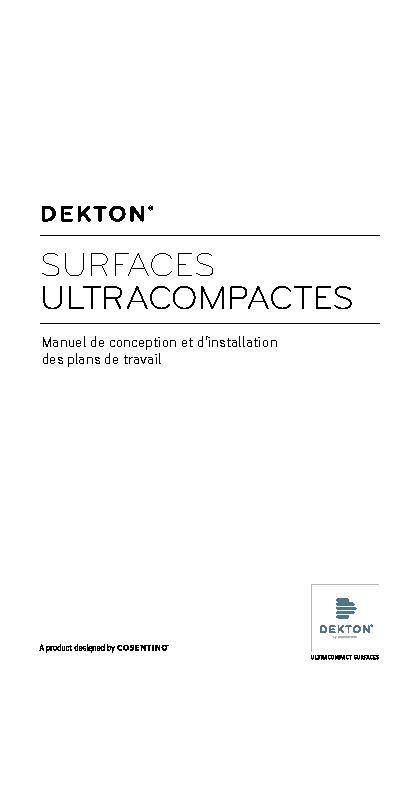 Dekton Worktop Design and Installation