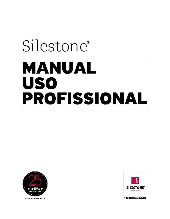 Manual for professional use